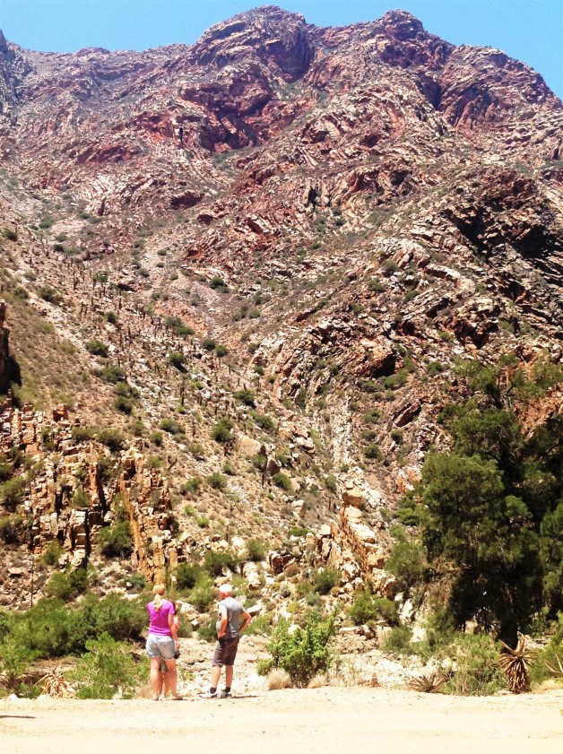 Rock formations on Swartberg Pass