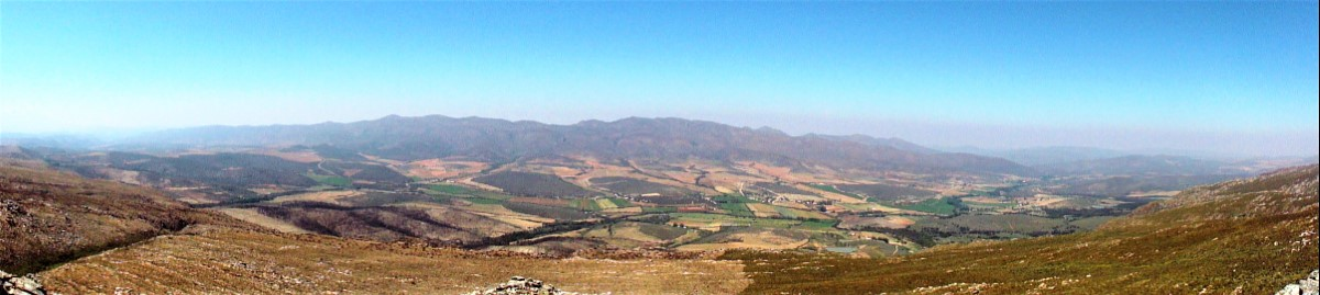 View from Swartberg Pass